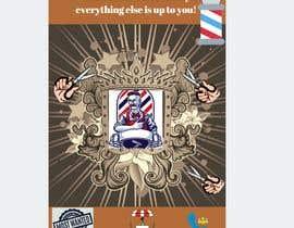 #2 untuk Graphic design A Frame Barber Shop oleh sajidahsiti8