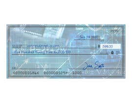 #11 para Create a background image for a US check for my company por ExpertSajjad