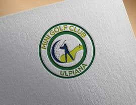 #34 for Logo design for: Minigolf Club Ulpiana af nilufarlizu