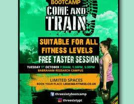 #20 cho design poster/flyer for outdoor fitness bootcamp bởi satishandsurabhi