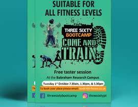 #28 cho design poster/flyer for outdoor fitness bootcamp bởi mdabdulkhalequea
