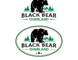 """#85 for I would like a logo designed to showcase my company name which will be """" black bear overland"""" I'm looking for the outline of a black bear inset in a semi circle( globe) or something similar, but I'm not limited to that design. by ricardoher"""