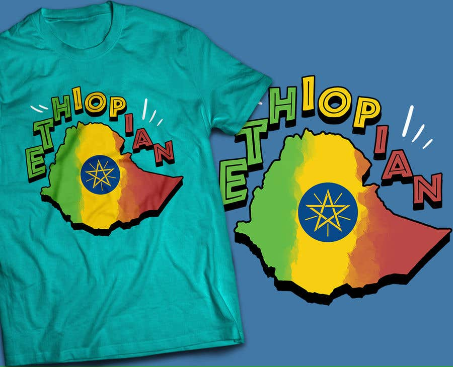 Konkurrenceindlæg #40 for Design an Ethiopian or Eritrean T-shirt
