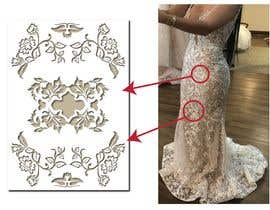 #67 для Vectorize lace pattern for laser cutting от stefaniamar