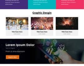 #5 para Create a one page website de anusri1988