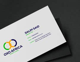 #44 untuk Design a Logo and Business Card for OXO Africa oleh takujitmrong