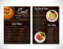 #12 untuk Create a B4 takeaway flyer from my menu provided oleh writi09