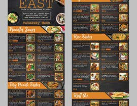#24 untuk Create a B4 takeaway flyer from my menu provided oleh raiyansohan777