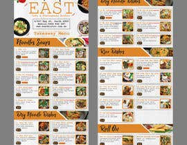 #27 untuk Create a B4 takeaway flyer from my menu provided oleh raiyansohan777