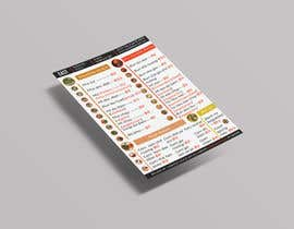 #17 untuk Create a B4 takeaway flyer from my menu provided oleh shampa61