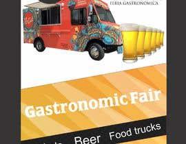 Nro 3 kilpailuun Gastronomic Fair poster design käyttäjältä legalpalava