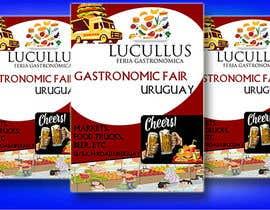 Nro 7 kilpailuun Gastronomic Fair poster design käyttäjältä mdabdur809
