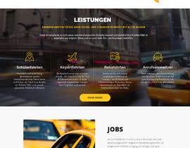 JuanRivasDesign tarafından Design Taxi Website Mockup için no 19