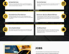hstiwana51 tarafından Design Taxi Website Mockup için no 40