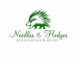 #25 for Need a new logo for Needles & Hedges, Accessories and Decor by ali8271