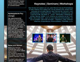 tjeba00 tarafından Design a speaker one-sheet/pamphlet için no 36