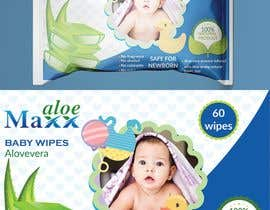 #20 cho Designing of Hand wash sticker and Baby's wet tissue packaging. bởi subrinarupa