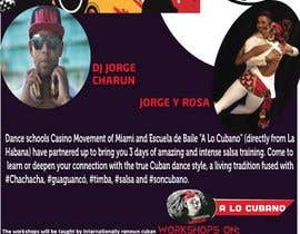Nro 37 kilpailuun flyer design for a dance workshop event käyttäjältä mahabubarafat