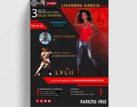 Nro 30 kilpailuun flyer design for a dance workshop event käyttäjältä hlwbelal