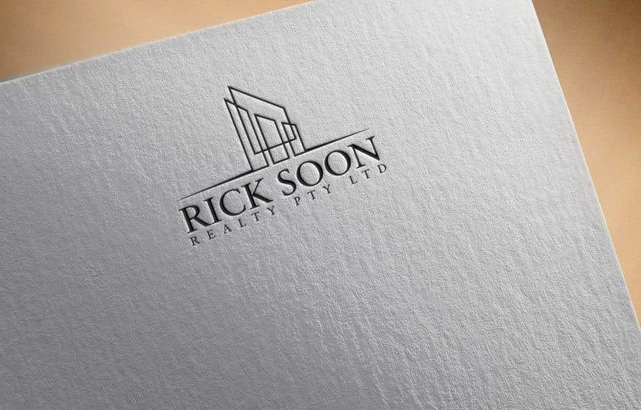 Kilpailutyö #124 kilpailussa Design a Modern Logo for Rick Soon Realty Pty Ltd