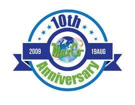 #85 untuk 10th Anniversary Logo oleh KREATION87