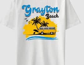 feramahateasril tarafından Create coastal/nautical/vintage souvenir beach t-shirt style design for use on t-shirt and logo for website için no 27
