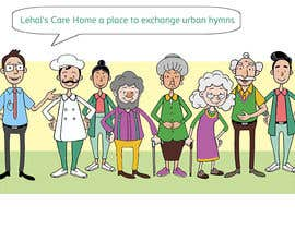 #15 for Senior Living Cartoon/Caricature characters. by orrlov