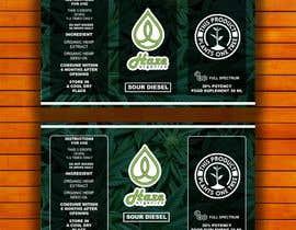 #15 for Packaging changes CBD bottle af tufailrahim
