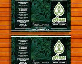 #18 for Packaging changes CBD bottle af tufailrahim