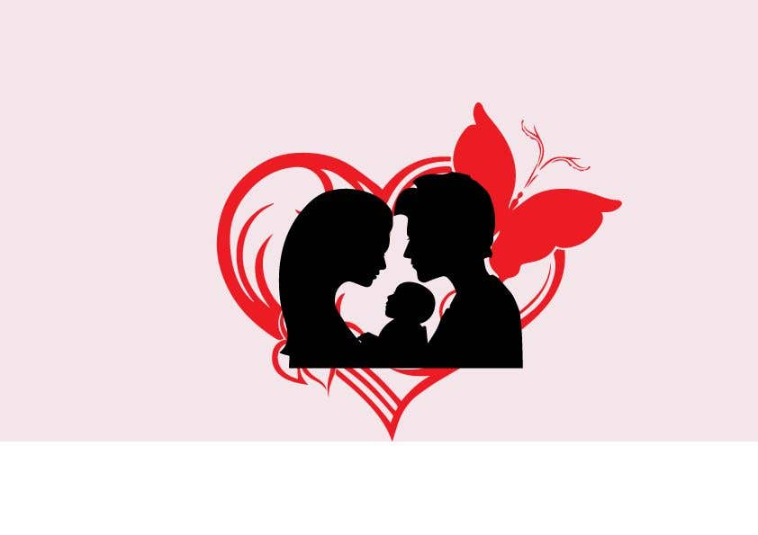 Proposition n°                                        10                                      du concours                                         Logo pour faire-part de mariage et de naissance