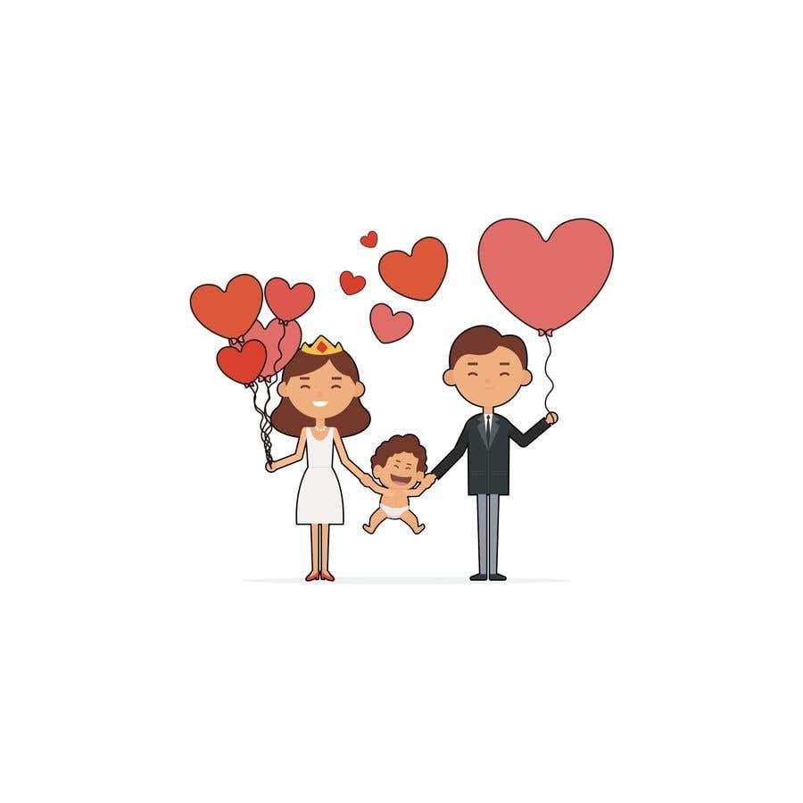 Proposition n°                                        16                                      du concours                                         Logo pour faire-part de mariage et de naissance