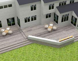 #16 для Design the deck for this house. от emelgohary5