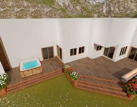 #13 для Design the deck for this house. от KayKiyo