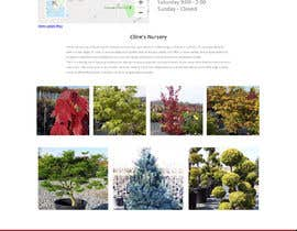 #11 untuk Create website mockup design for plant nursery Nursery oleh sudpixel