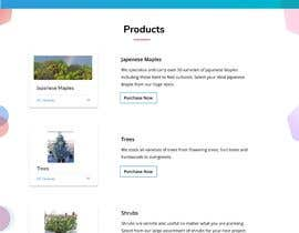 #12 untuk Create website mockup design for plant nursery Nursery oleh ashutoshnayak060