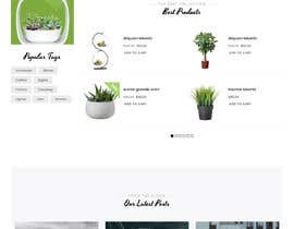 #10 untuk Create website mockup design for plant nursery Nursery oleh wprubel