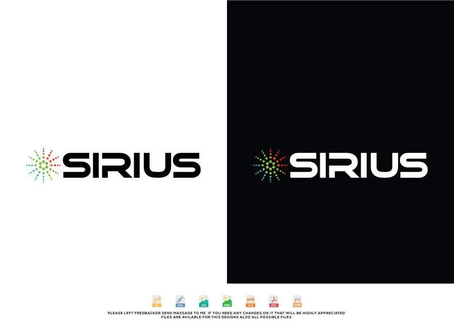 Kilpailutyö #1517 kilpailussa New Logo :   SIRIUS