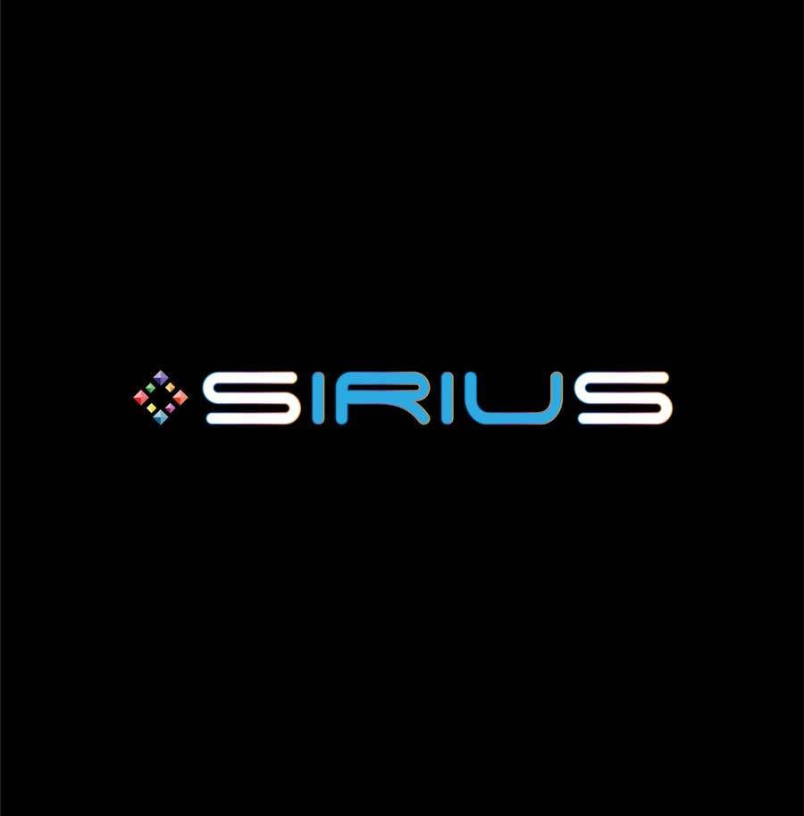 Kilpailutyö #1703 kilpailussa New Logo :   SIRIUS