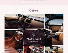 Nro 63 kilpailuun Home page design for Leather Car Interiors website käyttäjältä tamamanoj