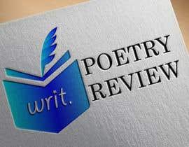 #54 untuk New logo for Writ Poetry Review oleh asfCreation