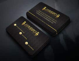 #10 for Luxury Black and Gold Business Card Design for Jewelry website af Monjilalamia