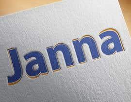 #109 untuk Design a Logo for JANNA oleh asifjano