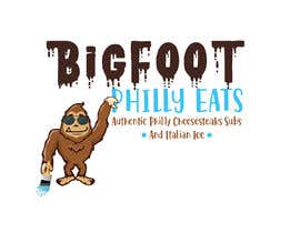nº 30 pour Need a logo for new business - opening a take out restaurant-  Sasquatch or big foot themed par CreativeCookie91
