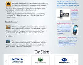 #42 for Website Design for MobeSeek - mobile strategy agency by patil1987