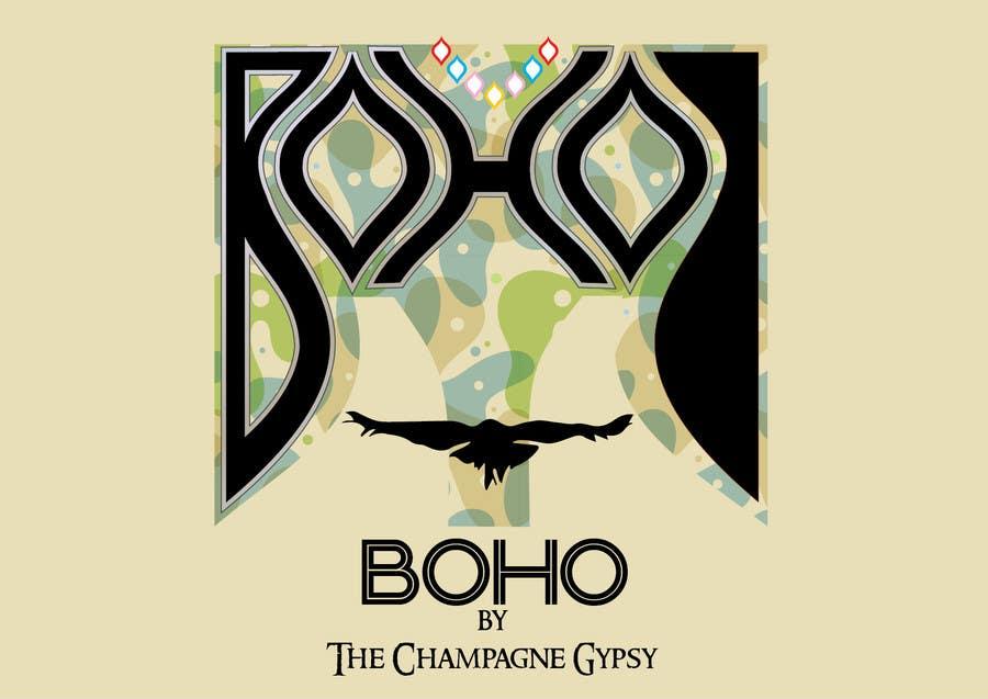 "Penyertaan Peraduan #                                        75                                      untuk                                         Design a Logo for Handmade ""Boho"" Boutique Jewellery"