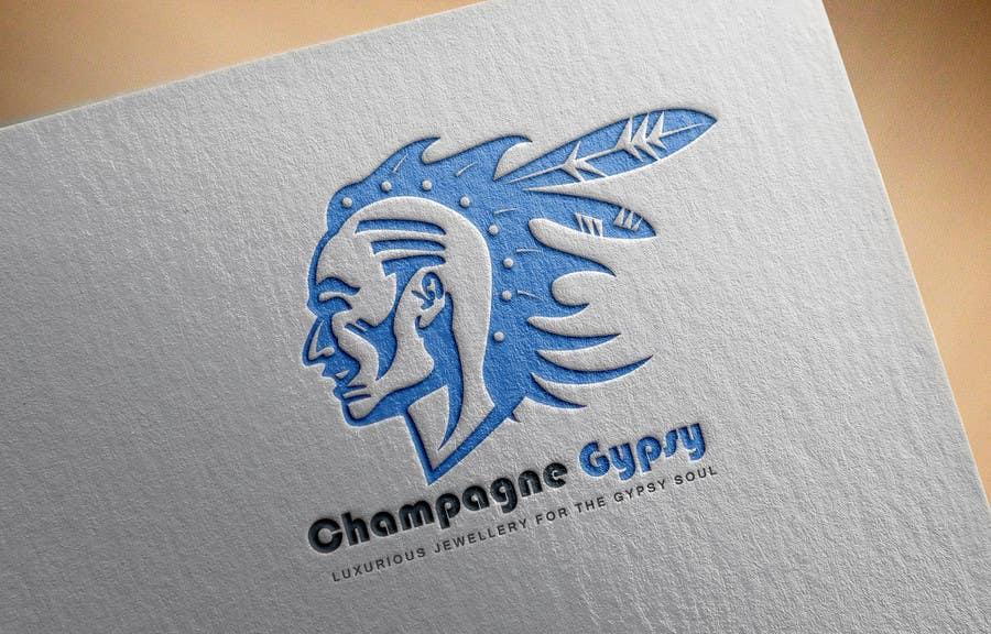 "Penyertaan Peraduan #                                        77                                      untuk                                         Design a Logo for Handmade ""Boho"" Boutique Jewellery"