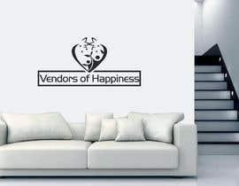 Nro 80 kilpailuun Logo for 'Vendors of Happiness' käyttäjältä naimmonsi12