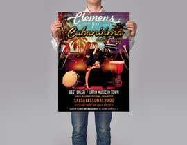 Nro 62 kilpailuun Design flyer/poster for salsa events käyttäjältä khaledalmanse