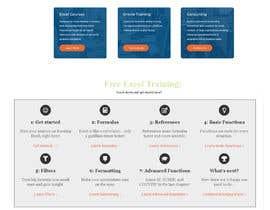 Nro 41 kilpailuun Homepage of a website käyttäjältä amir499