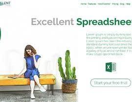 Nro 43 kilpailuun Homepage of a website käyttäjältä rizmaster